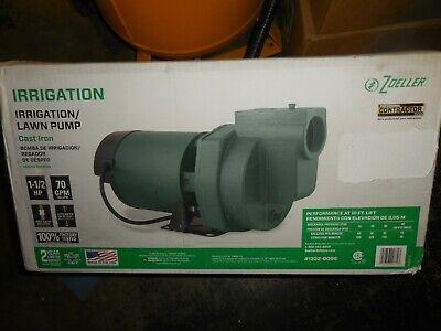Zoeller 1.5-hp Cast Iron Lawn Pump 1332-0006
