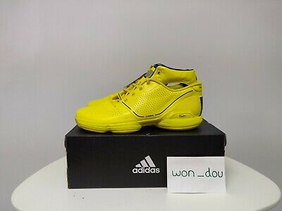Men's Adidas Adizero D Rose 1 All Star Wolverine Yellow Basketball Shoes Size 11