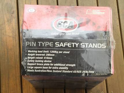SCA Car Stands, Pin - 1200kg NEW in the box