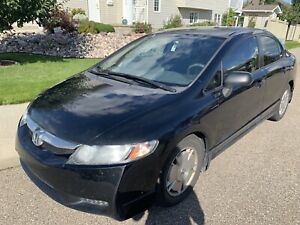 2009 Honda Civic with winter tires + starter