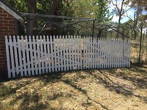 White picket fence gate gates Glenorie The Hills District Preview