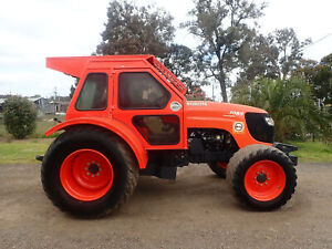 2016 KUBOTA M108S 108HP 4WD FWA A/C CAB TRACTOR JOHN DEERE NEW HOLLAND MASSEY FERGUSON Austral Liverpool Area Preview