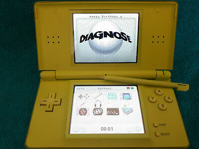 Nintendo DS Lite. Olive/Lime Green.