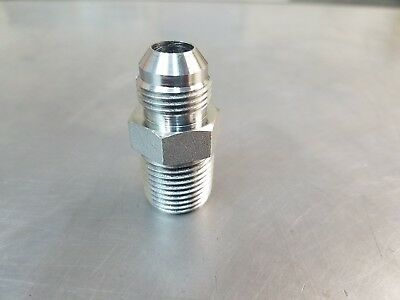 2404-06-04 Hydraulic Adapter Fitting 38 Male Jic X 14 Male Npt