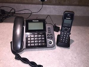 Panasonic 1-Handset Corded/Cordless Phone w/ Answering Machine