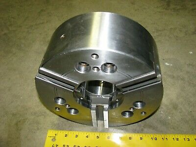 Mmk Za8-10-72 Hydraulic Lathe Chuck 10 Inch Diameter 3-jaw
