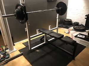 Bench press northern light olympique