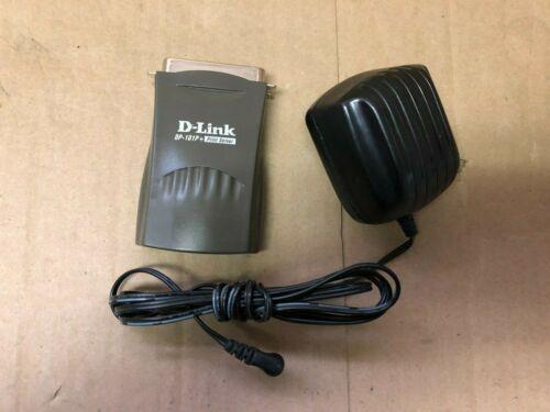 Genuine D-Link (DP-101P+) Pocket Size Ethernet Parallel Port Print Server