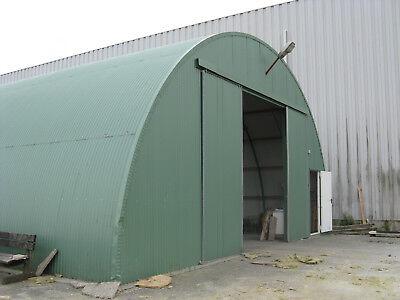 Rundbogenhalle Runddachhalle Stahlhalle Lagerhalle Fertighalle Garage Halle