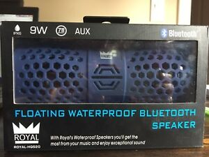 ROYAL floating waterproof Bluetooth speaker