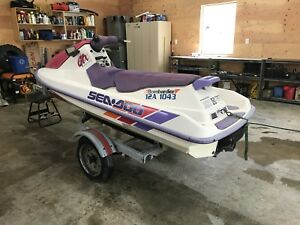 Seadoo gtx and trailer