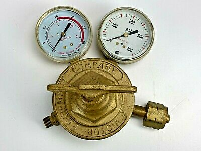 Victor Acetylene Oxygen Regulator Sr460a Sr 460 A