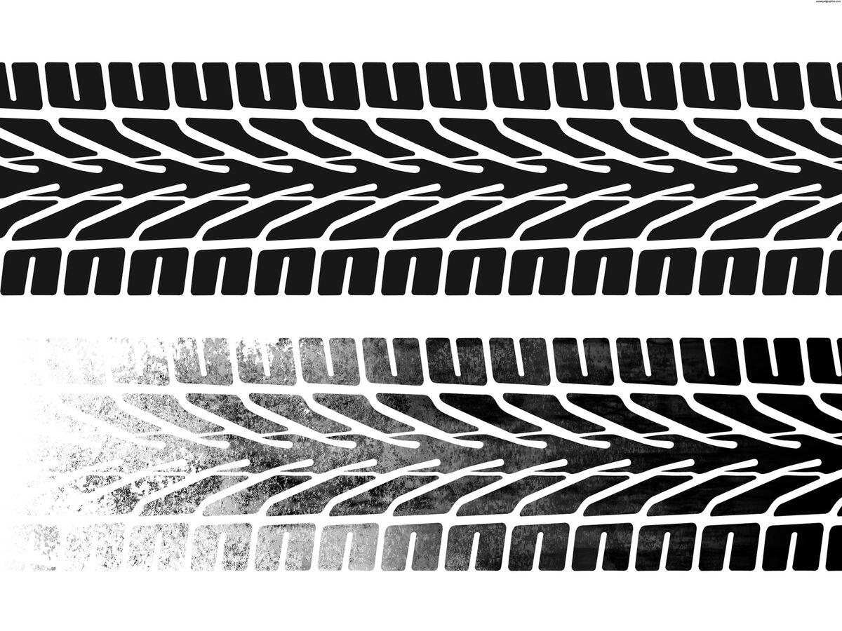 Картинка след колеса