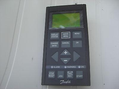 DANFOSS VLT5000 AC DRIVE KEYPAD 175Z0401, LOCAL CONTROL PANEL