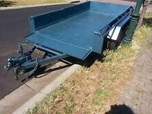 FANTASTIC SIZE 10x5 SOLID TANDEM AXLE WORK TRAILER Para Hills West Salisbury Area Preview