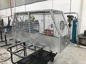 Hot Dipped Galvanised Aus Made ute Dog Cage Smeaton Grange Camden Area Preview