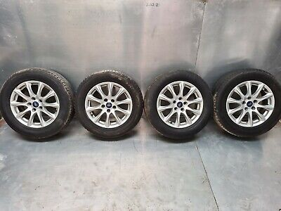 FORD MONDEO MK5 '' 16 INCH ALLOY WHEELS AND TYRES FULL SET 215/60/R16