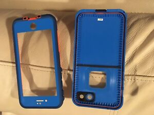 Brand now iPhone 7 life proof case.