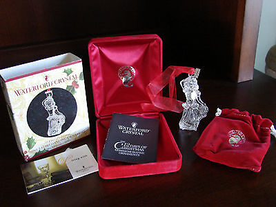 Waterford 12 Days Of Christmas Ornament 9 Nine Ladies Dancing 2003 New In Box