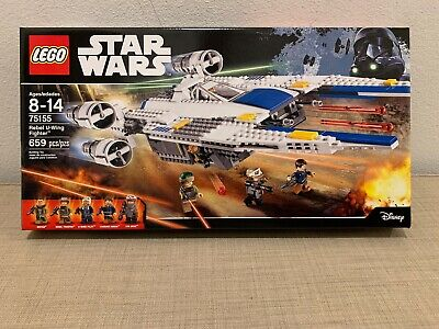 LEGO Star Wars 75155 Rebel U-Wing Fighter Retired Factory Sealed New