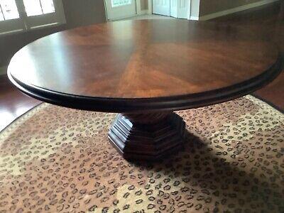"""Dining Room Table Drexel Heritage, Solid Wood 60"""" diameter"""