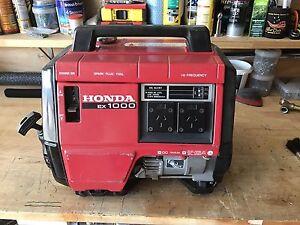 Honda EX1000 generator Deception Bay Caboolture Area Preview