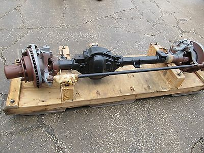 Dana 60 Front Steer Axle Assembly 4 56 Ratio 8 Lug Disc Brakes Gmc 14072449 New
