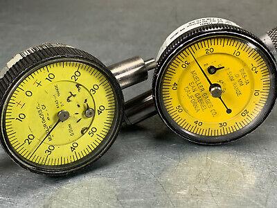 2 Mueller Dial Indicator .01mm Resolution X .2.5mm Range Metric