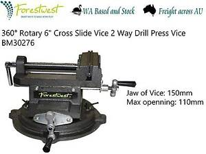 "360°Rotary 6"" Cross Slide Vice with Swivel Base BM30276 Canning Vale Canning Area Preview"
