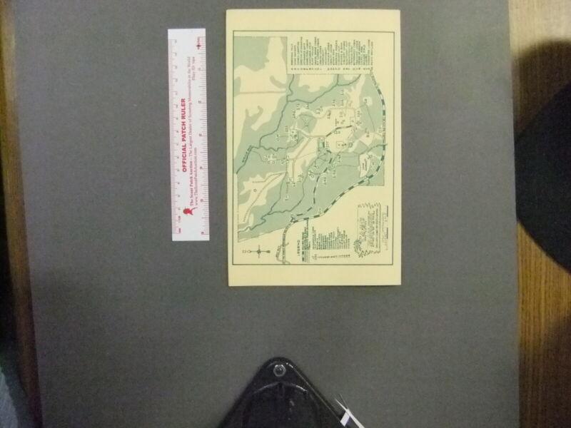 Boy Scout Camp Manatoc Akron Area Council Brochure 5738GG