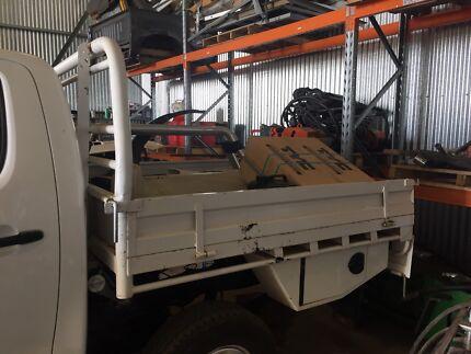 Toyota Hilux Dual Cab Steel Tray