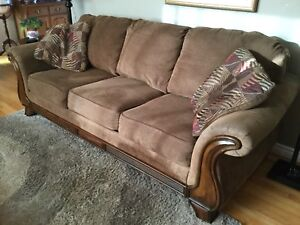 Couch and Love Seat - $400