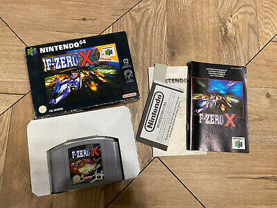 F ZERO X ~ Nintendo 64 N64 PAL Boxed & Complete Collectors