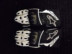 Alpinestars Leather Motorcycle gloves