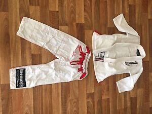 Decimate white Gi size M1 Waikiki Rockingham Area Preview