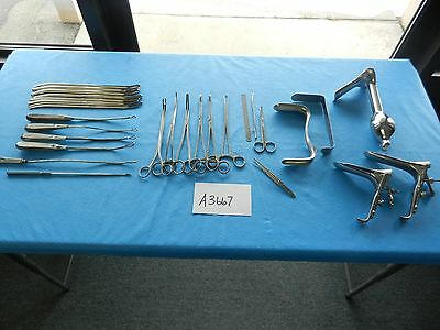 V. Mueller Pilling Surgical Obgyn Instrument Set  3