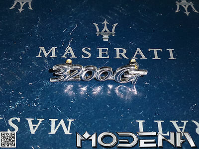 buy maserati 3200 gt badges and emblems for sale. Black Bedroom Furniture Sets. Home Design Ideas