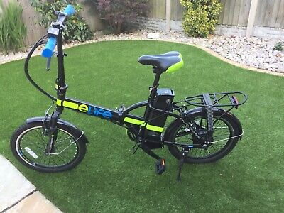 Elife Natural Electric 36V 250W Power Assisted City Folding Bike