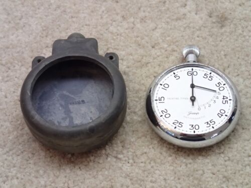 Minerva Vintage Jessop Yachting Yacht Timer Stopwatch Swiss Made Incomplete
