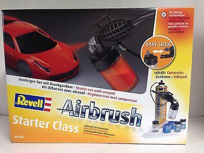 +++ Revell 39196 Airbrush Komplett-Set starter class 39196