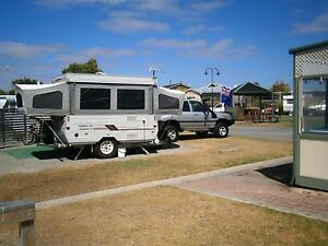 Coromal pop top camper good condition off road sleeps 5. $12,500 ono Modbury North Tea Tree Gully Area Preview
