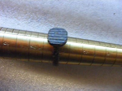 Ancient Roman bronze Ring,  17 x 19 mm inside... Interesting design.