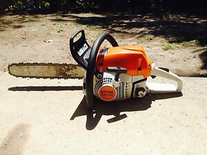 Stihl chain saw wood boss Nerang Gold Coast West Preview