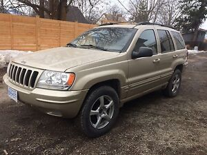 2000 Jeep Cherokee grand cherokee limited SUV, Crossover
