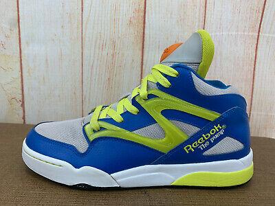 Reebok Pump Omni Lite GS Basketball Sneaker, Women Sz 7.5 White Blue...