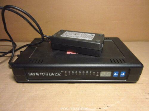 IBM 93H6549 93H6548 Enhanced Ran RS-232 16-Port EIA-232 Remote Node - INCL PSU