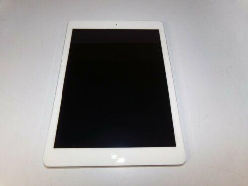 """Apple iPad Air 1st Gen 9.7"""" 32GB MD789LL/A A1474 White & Silver iOS 12.4.8"""