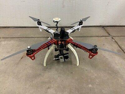 DJI F450 Flamewheel Drone w/ Go Pro Hero 3+ NAZA GPS for FPV ARF