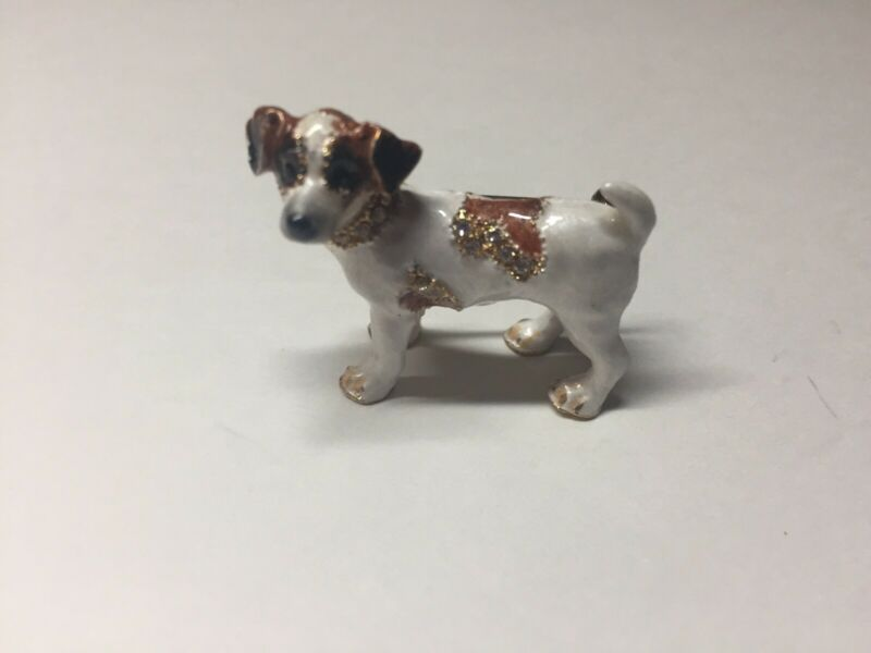 Jack Russell Terrier Dog Broche Pin New