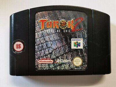 N64 Turok 2 Seeds of Evil UK PAL Cart Only Nintendo 64